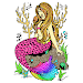 Download Mermaid Glitter Color by Number:Pixel Art Coloring 1.0 APK