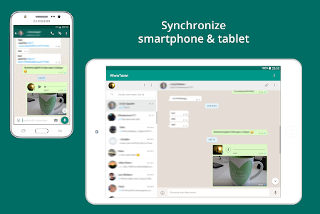 screenshot of Tablet for WhatsApp version 360