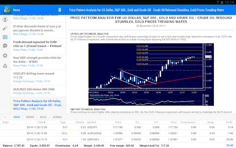 screenshot of MetaTrader 5 version 500.1130