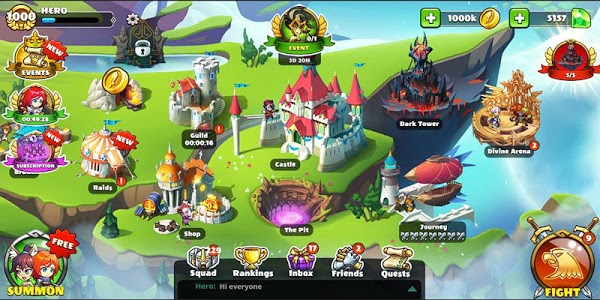 Download Mighty Party: Heroes Clash 1.16 APK