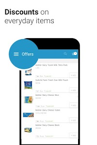 screenshot of Milkbasket - Hasslefree Daily Grocery Delivery version 3.3.9