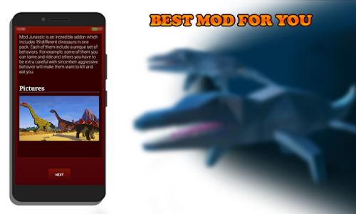 Download Mod Jurassic for MCPE 1.0 APK