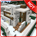 Download Modern Redstone House Map MCPE 1.4 APK
