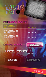 screenshot of Music Hero - Rhythm Beat Tap version 2.1