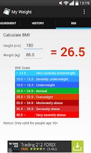 Download My Weight 0.4 APK
