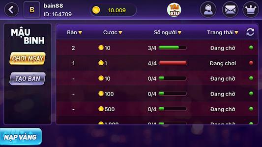 screenshot of N88 Game Danh Bai Doi Thuong version 2.0.9