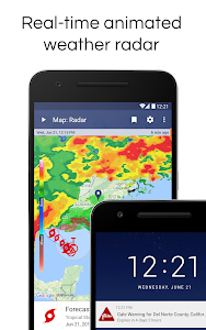 screenshot of NOAA Weather Radar Live & Alerts version 1.20