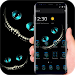 Download Night Cheshire Grin Kitty Devil Theme 1.1.2 APK