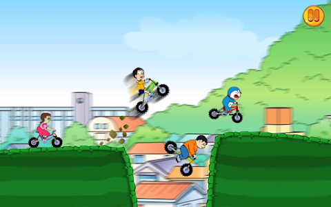 screenshot of Nobita Bike Race Free version 1.0
