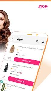 screenshot of Nykaa – Beauty shopping | Buy makeup & cosmetics version 2.1.3