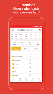 screenshot of Health & Weight Loss Coach version 6.20