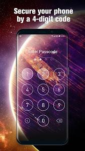 screenshot of Keypad PIN lock Password for lock screen phone7 version 9.2.0.1865_master_push_update