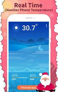 screenshot of Phone Cooler: ❄ CPU Cool Master & Booster ? version 1.5