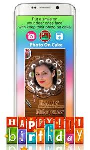 screenshot of Photo On Birthday Cake - Cake with name and photo version 4.3