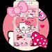 Download Pink Bowknot Princess Kitty Theme 1.1.5 APK