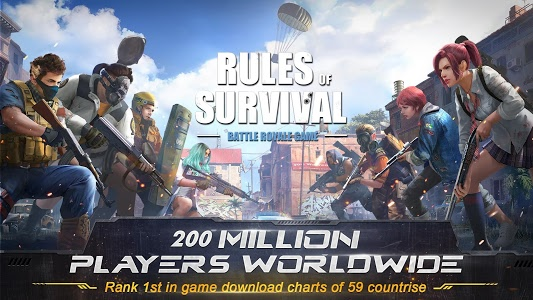 Download RULES OF SURVIVAL 1.204011.203544 APK