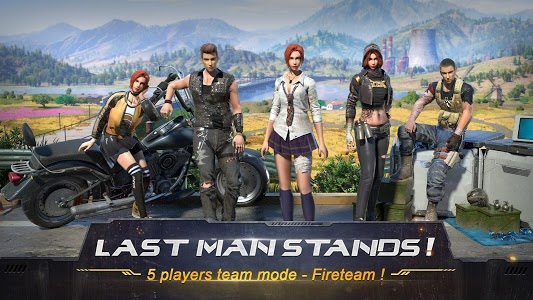 screenshot of RULES OF SURVIVAL version 1.234461.237047