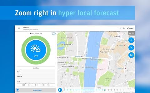 screenshot of RainToday - HD Radar version 1.5.4.1