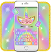 Download Rainbow Pink Rose Unicorn Keyboard Theme 1.0 APK