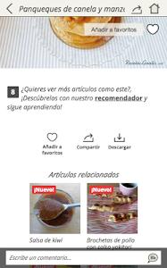 Download Recetas rápidas 2.25 APK
