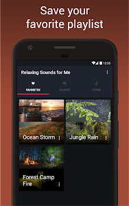 screenshot of Relaxing Sounds of Nature version 1.3