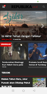 screenshot of Republika.co.id version 5.1.1
