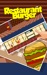 screenshot of Restaurant Burger version 1.2