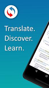 screenshot of Reverso Translation Dictionary version 8.8.1