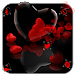 Download Romantic Red Love Heart Theme 1.1.2 APK