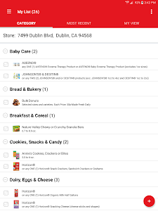 screenshot of Safeway version 4.8.0