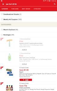 screenshot of Safeway version 4.7.2