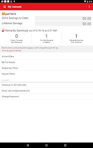screenshot of Safeway version 4.6.1