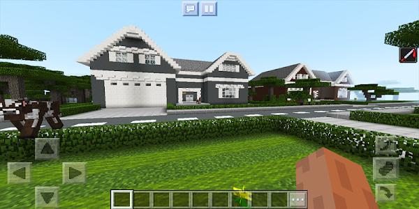 screenshot of School and Neighborhood. Map for MCPE version 31a.0
