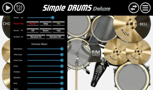 Download Simple Drums - Deluxe 1.4.6 APK