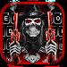Download Skull Fire Guns Keyboard Theme 1.0 APK