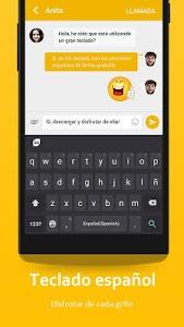 Download Spanish Language - GO Keyboard 3.4 APK