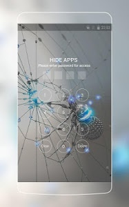 Download Spider Cool Neat Theme: Chrome Metal HD Wallpaper 1.0.0 APK