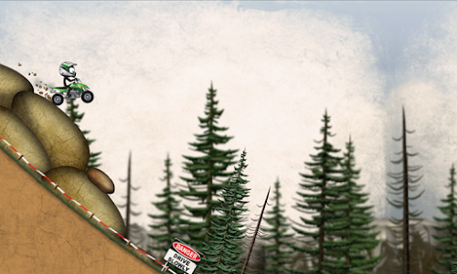 screenshot of Stickman Downhill Motocross version 3.5
