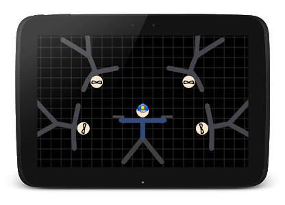 screenshot of Stickman Warriors version 2.0