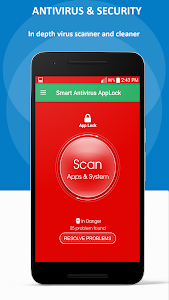 screenshot of Super Cleaner +Antivirus, Booster,Applocker version 1