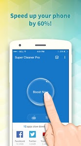 screenshot of Super Cleaner - RAM Booster version 1.1.26