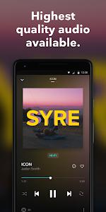 screenshot of TIDAL Music - Hifi Songs, Playlists, & Videos version 2.11.2