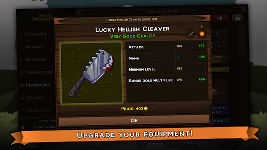 Download Tap the Monster - Medieval RPG Clicker 1.0.9a APK
