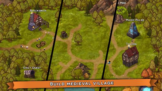 screenshot of Tap the Monster - Medieval RPG Clicker version 1.1.1