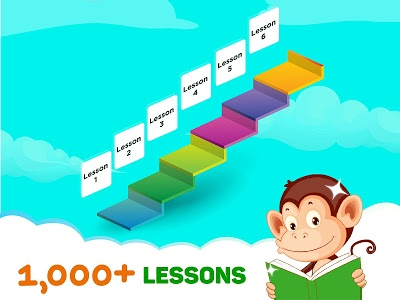 Download Monkey Junior: Learn to read English, Spanish&more 24.0.8 APK