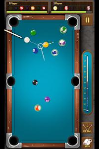screenshot of The king of Pool billiards version 1.4.4