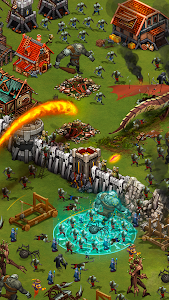screenshot of Throne Rush version 4.10.1
