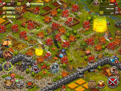 screenshot of Throne Rush version 3.14.1