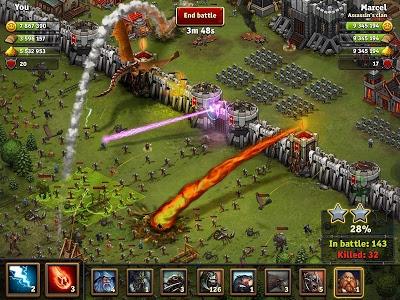 screenshot of Throne Rush version 4.3.0