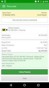screenshot of Tokopedia Seller - Jual Online version 1.0.4